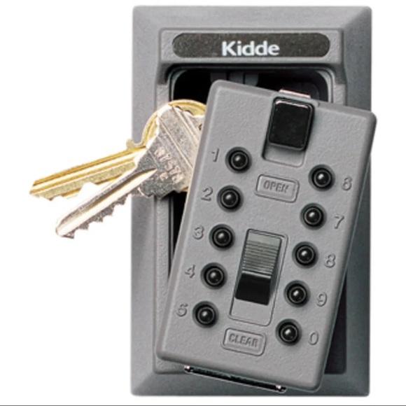 Kidde keysafe 5-key push button safe